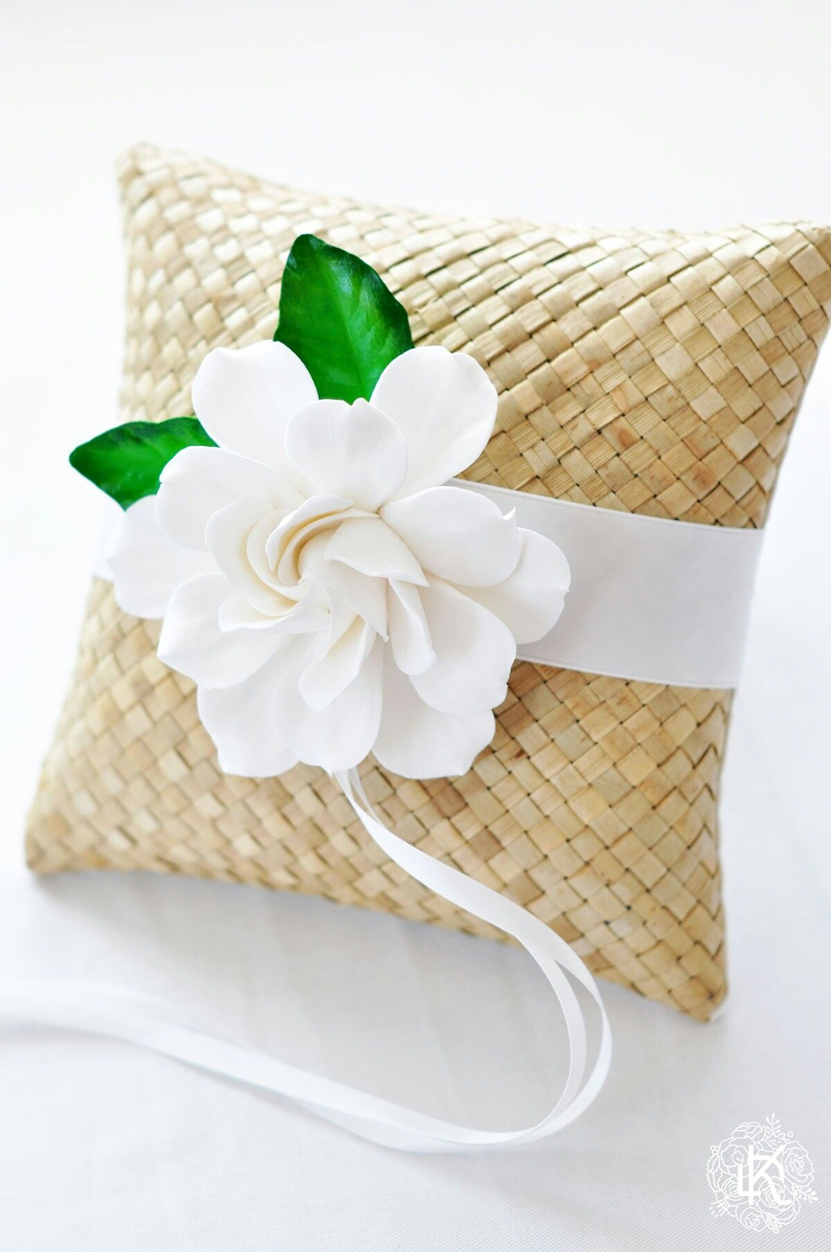 Wedding rings pillow. Designed and made by dkdesignshawaii ...