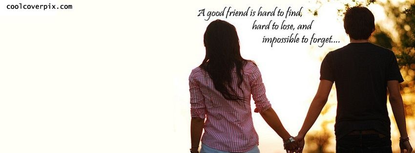 A very beautiful Facebook Friendship Quote Cover for your