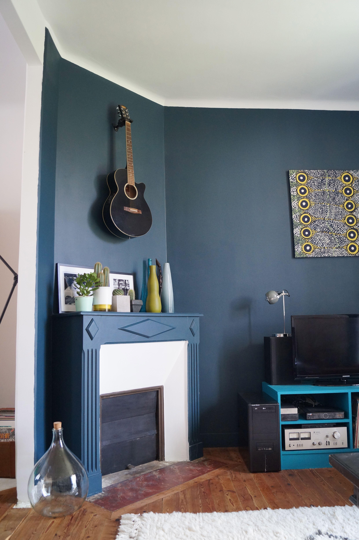 Salon Couleur Vert Prusse Decoration Interieur Peinture Decoration Interieure Idees Pour La Maison