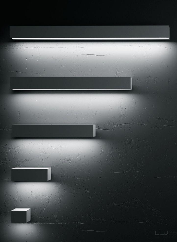 Francesc Rife for Uno Lighting   FLAT 10/20 wall lights