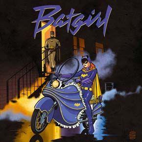 Purple Rain Batgirl by Cliff Chiang
