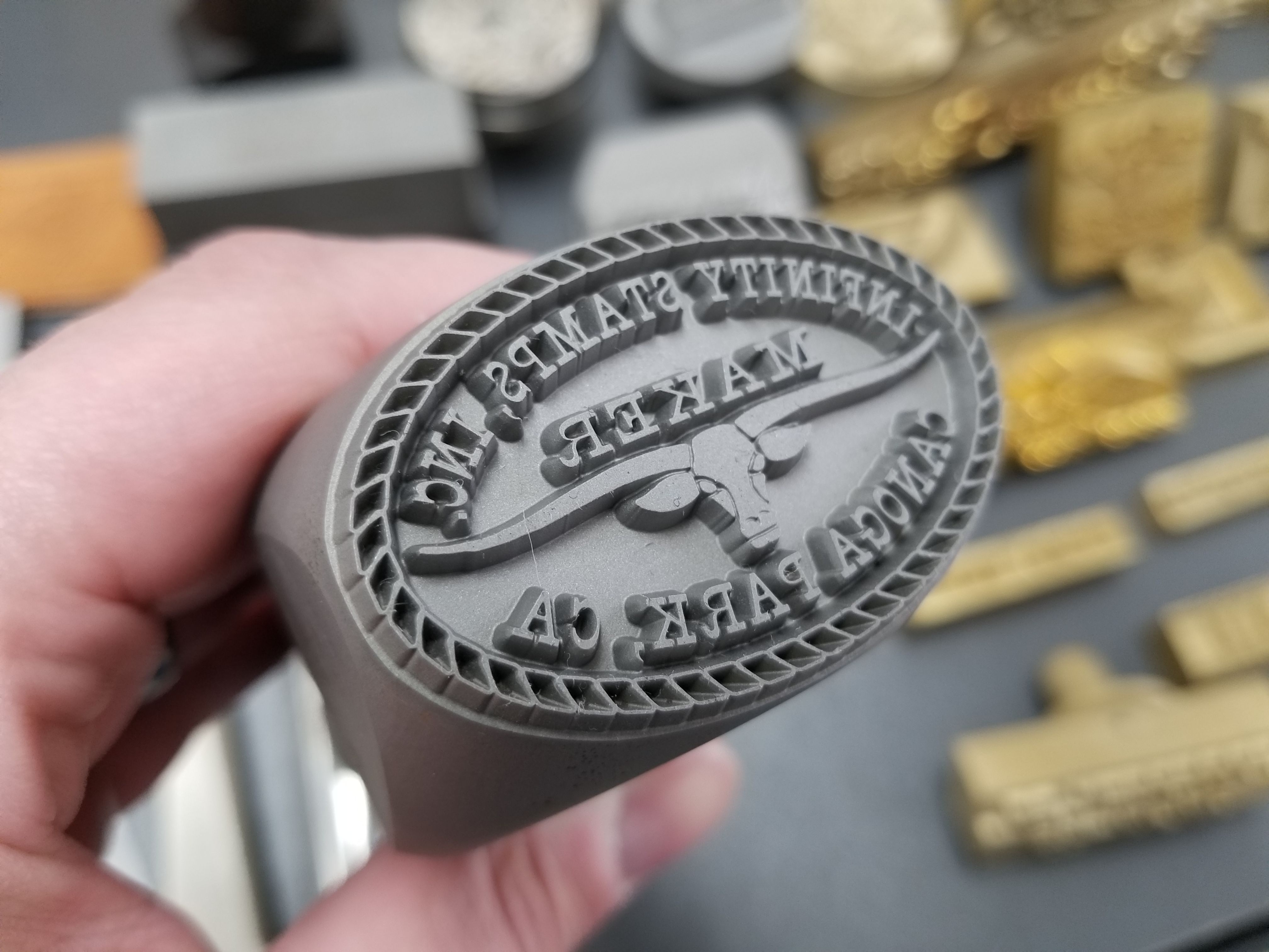 Leather makers mark stamp! | Leather Crafts, Books, and