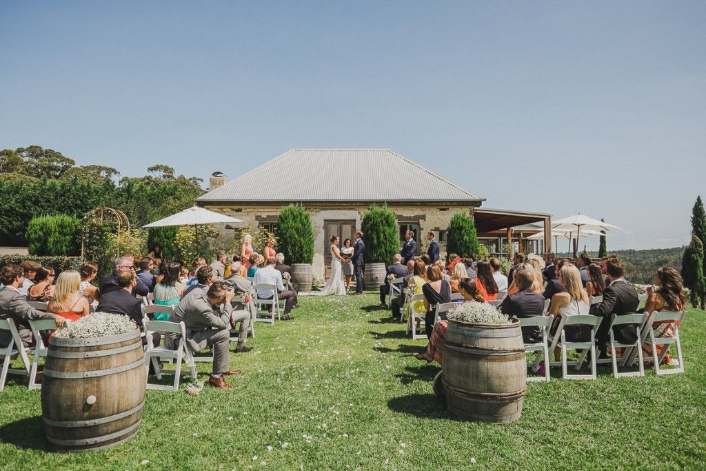 Cupitts Winery Milton NSW Via WedShed