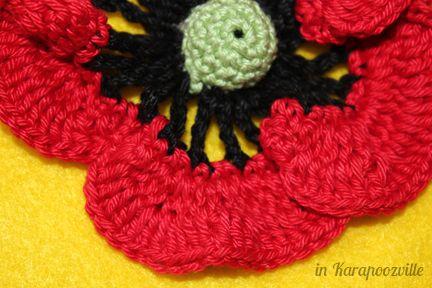 In Karapoozville: Poppy Love FREE pattern | crochet | Pinterest ...