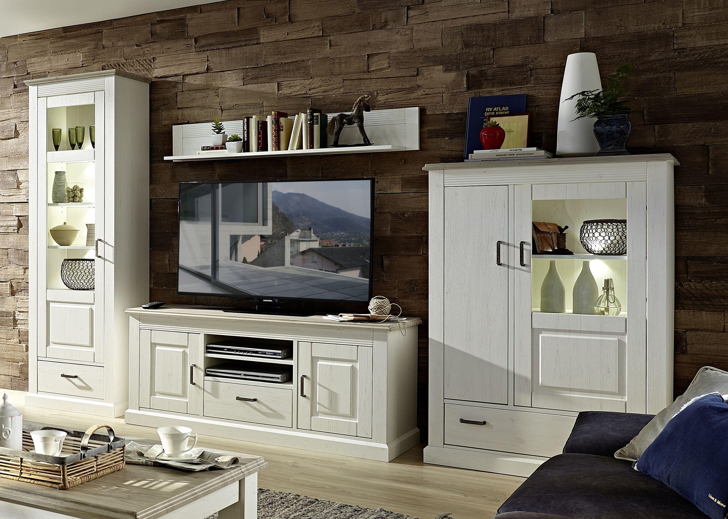 Wohnwand Wohnzimmer ~ Wohnzimmer mit moderner wandfarbe in dunklem grau und wohnwand