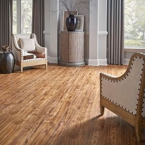 Home Legend Syncore X Teak Harbor Vinyl floor living room ideas