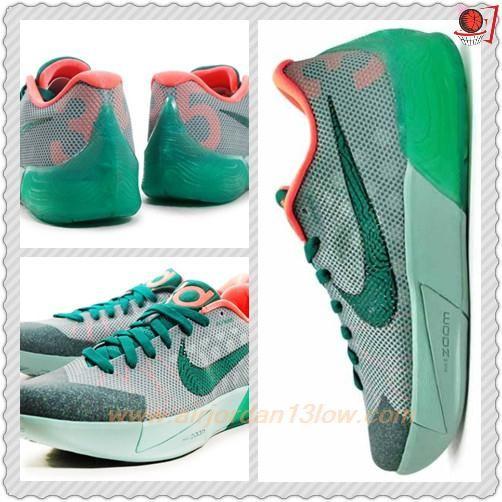 a69ab25ff192 679865-038 Nike KD Trey 5 II Cannon Mystic Green-Mango
