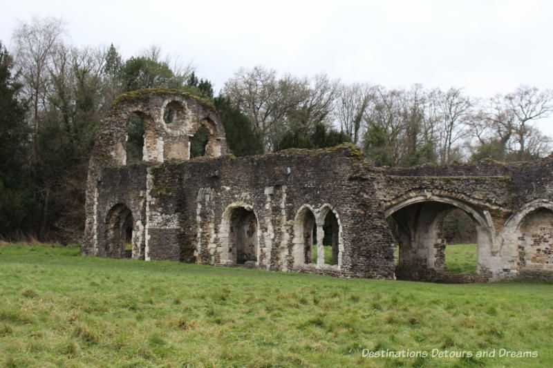 The Otherworldly Ruins Of Waverley Abbey Dissolution Of The Monasteries Ruins Otherworldly