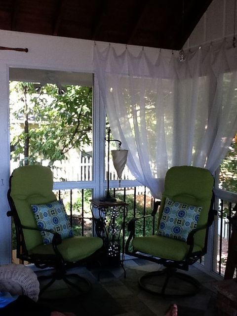 Screen Porch Seating Daybed: Screen Porch Seating/daybed
