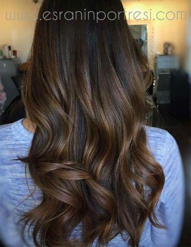 5 Koyu Kahve Sac Renkleri Mini Cheveux Fonces Cheveux Bruns
