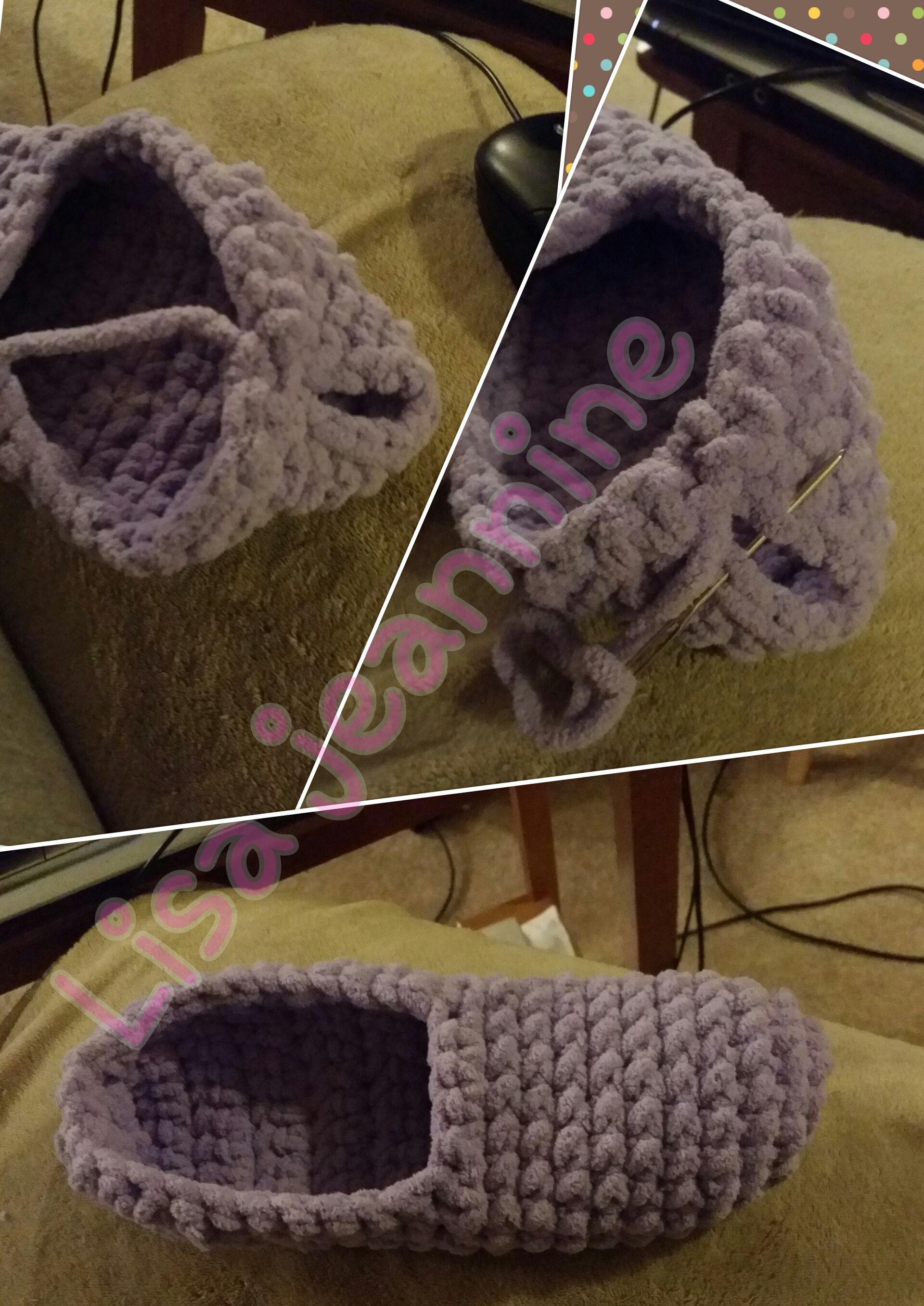 Super easy slippers | sumne vecičky | Pinterest | Zapatos tejidos ...