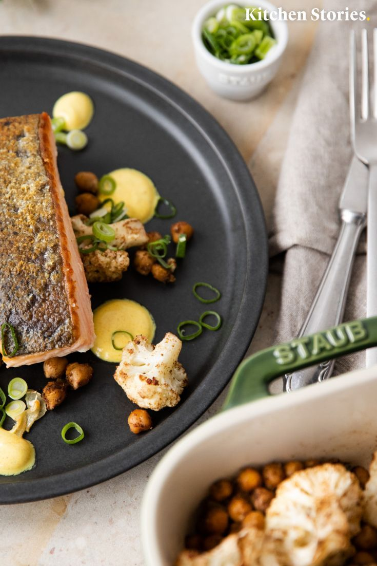 Gebratener Lachs mit gebratenem Gemüse ist genau das Richtige für die ...   - Omega seamaster -