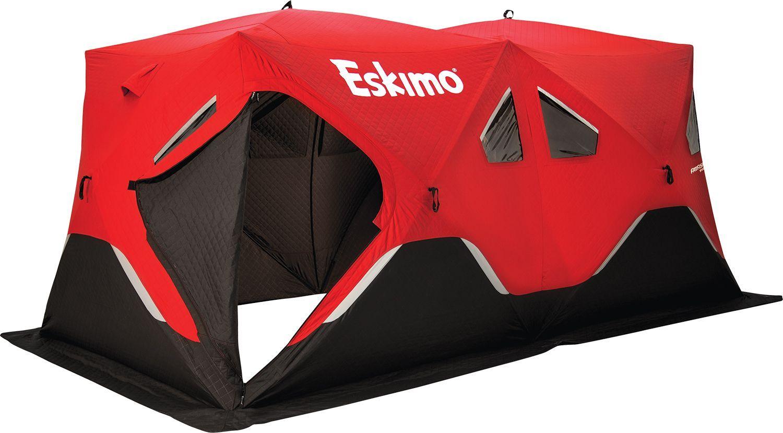 Eskimo FatFish 9416i 9-Person Insulated Ice Fishing Shelter