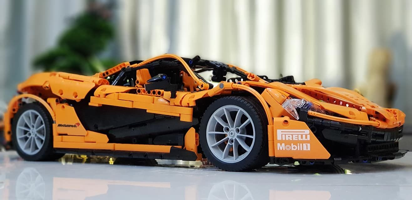 Moc Mclaren P1 Hyperca Lego Cars Lego Models Lego Technic