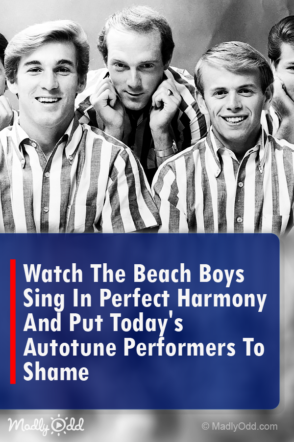 Watch the Beach Boys Sing in Perfect Harmony and Put Today
