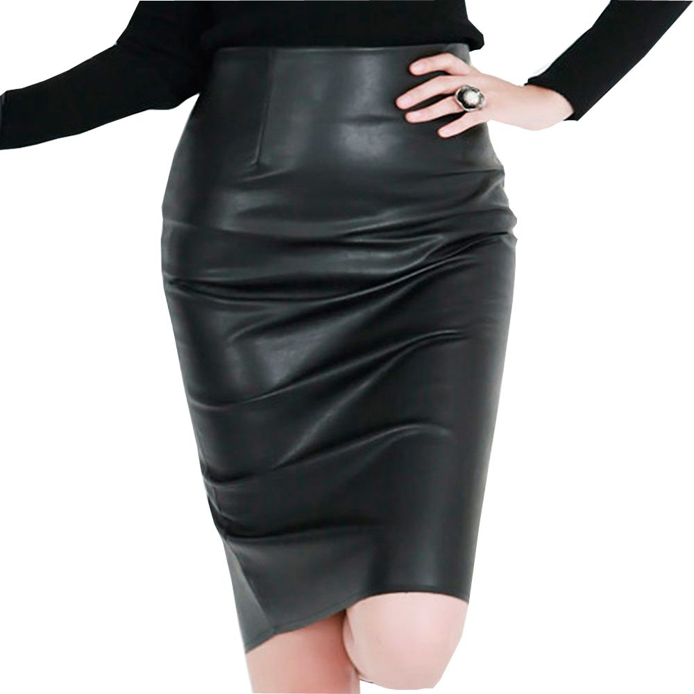 Buy Women Leather Skirts online at leathernxg | Women Leather ...