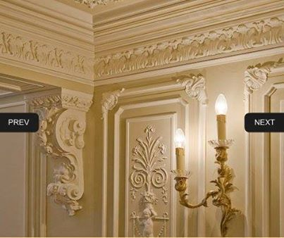 ديكورات قصور ملكيه Luxury Interior Design Moldings And Trim Ceiling Design