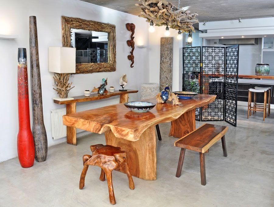 Comedores modernos de madera buscar con google home for Comedores de madera