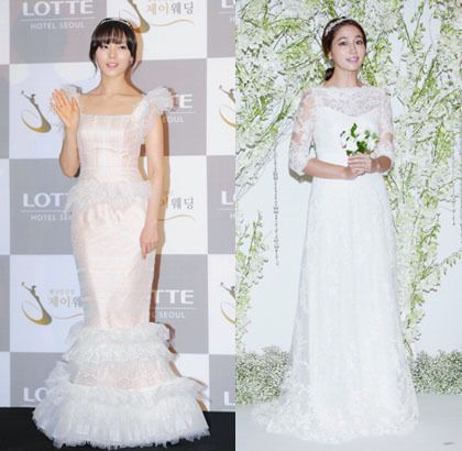 Korean Wedding Dress | Wedding Dress | Korean celebrities ...