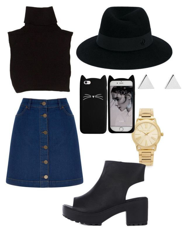 Lili nyy by explorer-14606438133 on Polyvore featuring мода, Marc Jacobs, Oasis, Michael Kors, Jennifer Meyer Jewelry and Maison Michel