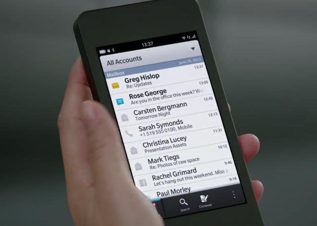 Updating your blackberry online