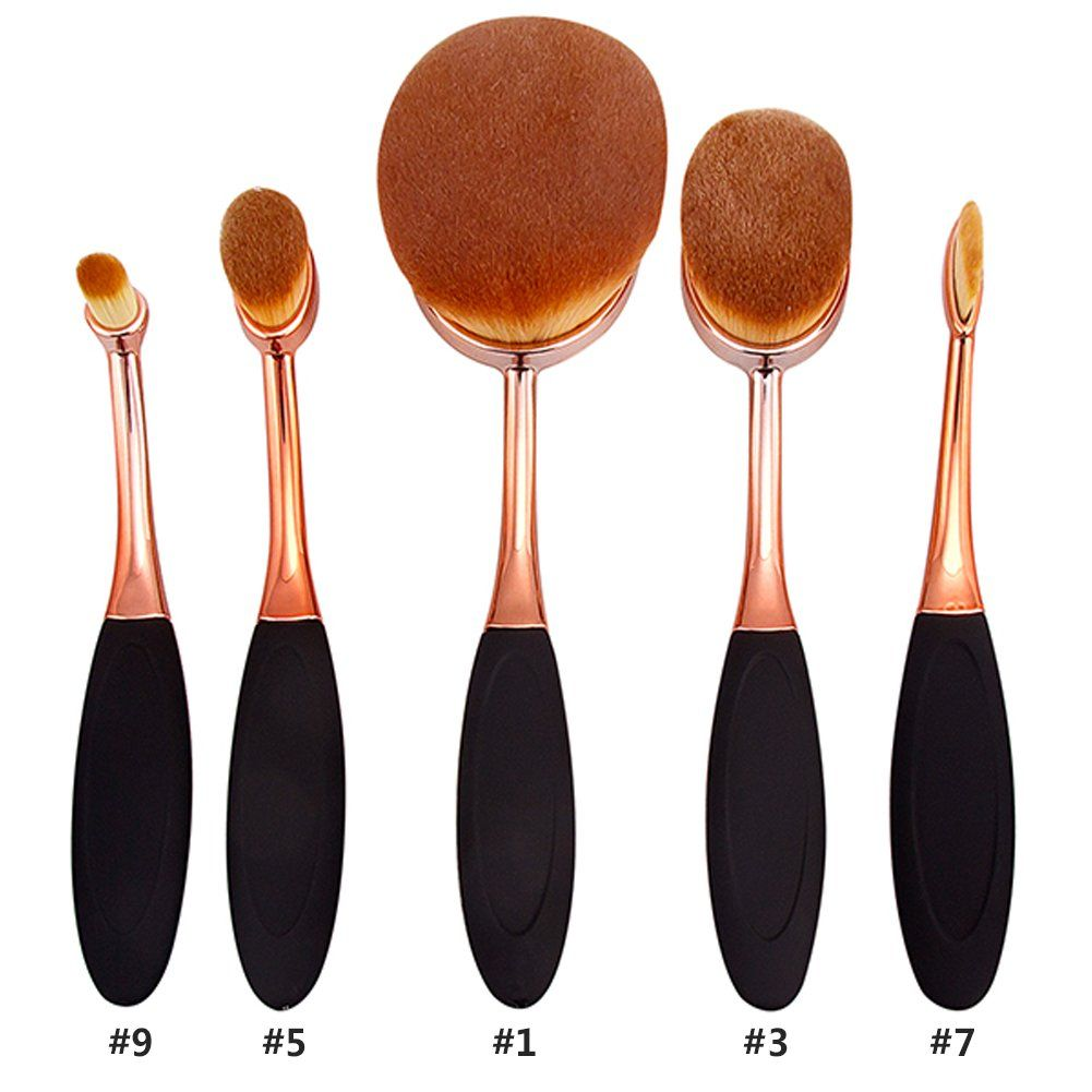 make up borstar användning