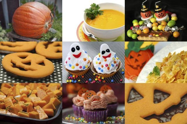 Set out plenty of yummy Halloween treats to offset the \ - halloween party ideas for teenagers