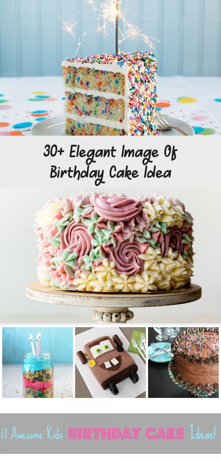 Photo of 30+ Elegant Image of Birthday Cake Idea . Birthday Cake Idea Surprise Pinata Cak…