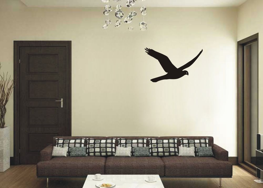Hawk wall vinyl art decal sticker bedroom drawing room
