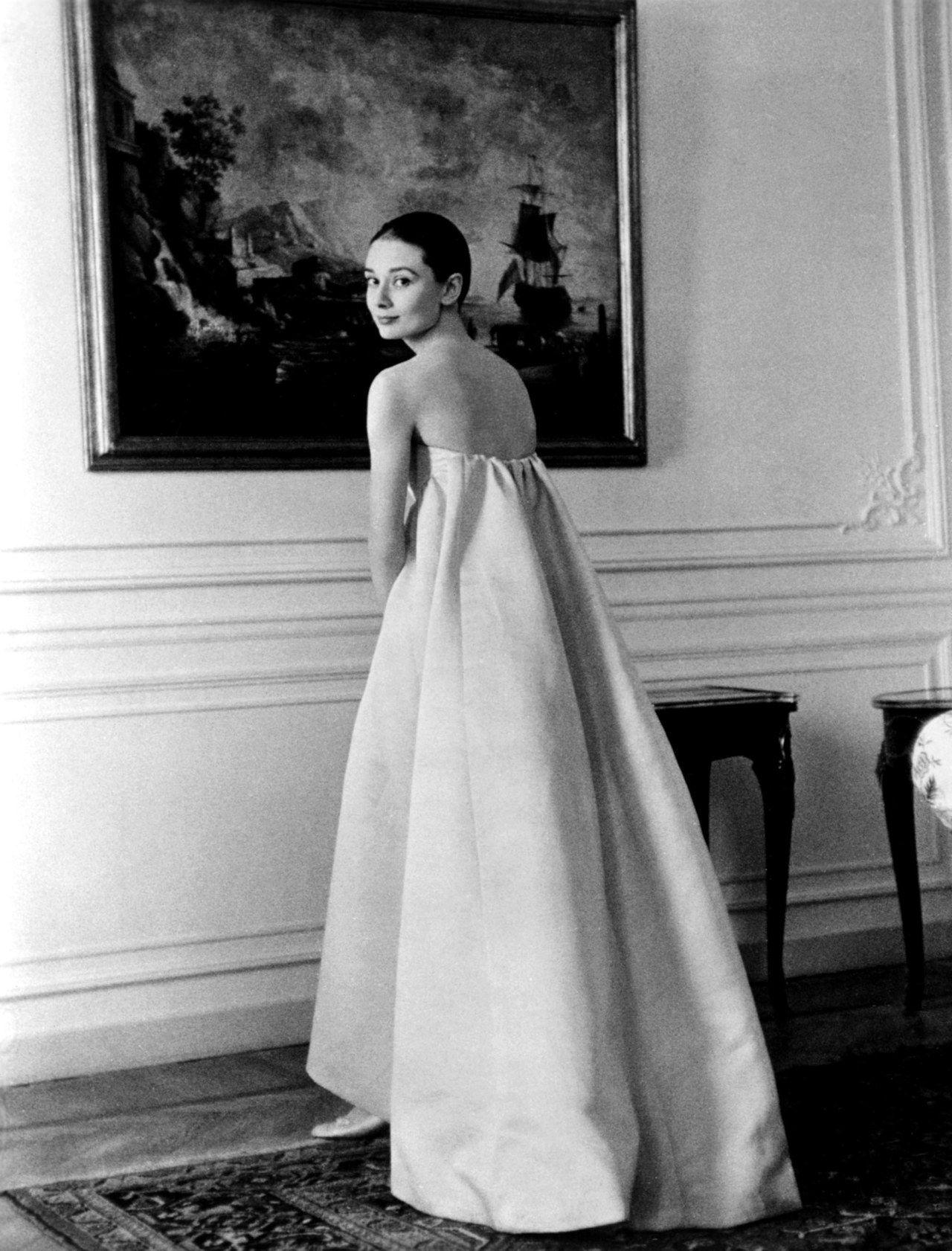 Givenchy dress, Audrey hepburn style ...