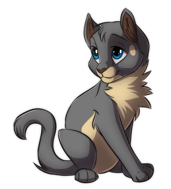 Chibi Kattja by Kamirah.deviantart.com on @deviantART ...  Warrior Cat Chibi