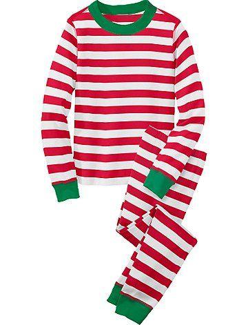 d9a819f65b Because I can never get enough Christmas stripes! Adorable Holiday Pajamas  for Kids - Savvy Sassy Moms