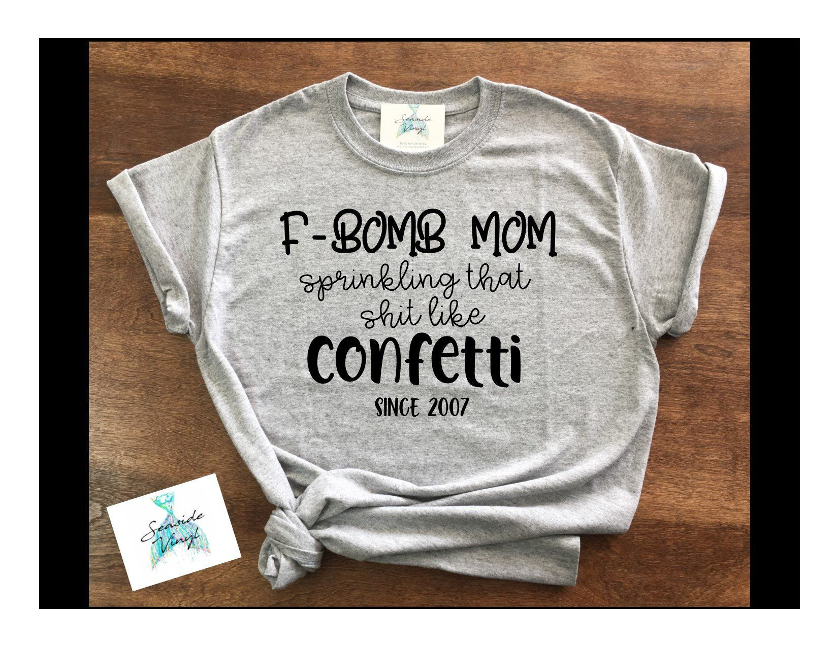 F Bomb Mom Shirt - F Bomb Kind of Mom - Gift for Mom ...