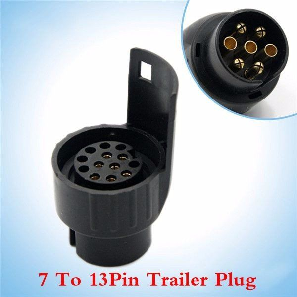 tirol 7 to 13 pin trailer plug plastic trailer wiring connector, Wiring diagram