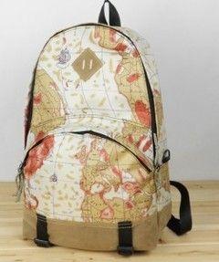 d3026158da Backpack Purse Old World Map Design - Google Search