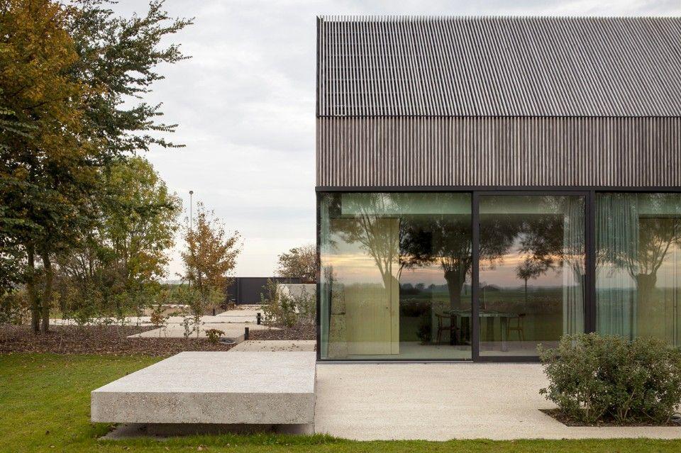 Govaert & Vanhoutte Architects, Farmhouse Burkeldijk and fortress Hazegras, Knokke, 2016