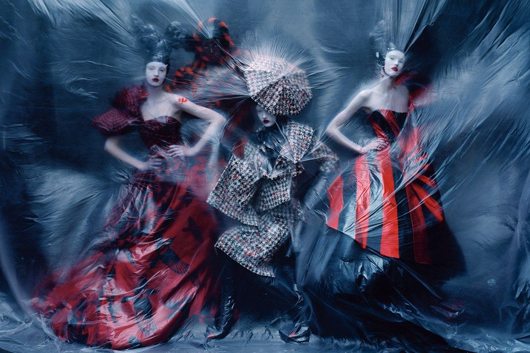 March 2015 Another shot from the McQueen archive shoot. Look back at photographer Tim Walker's many fantastical Vogue shoots