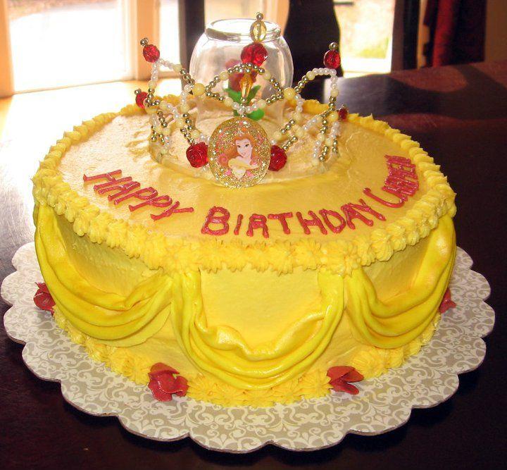 Belle cake Cakes Pinterest Belle cake Cake and Birthdays