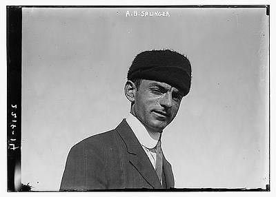 Photo of A.B. Salinger i.e. Alois Benjamin Saliger