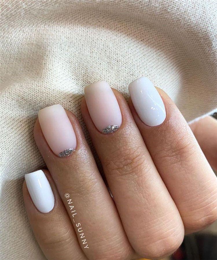 50 Cute Short Acrylic Square Nails Design And Nail Color