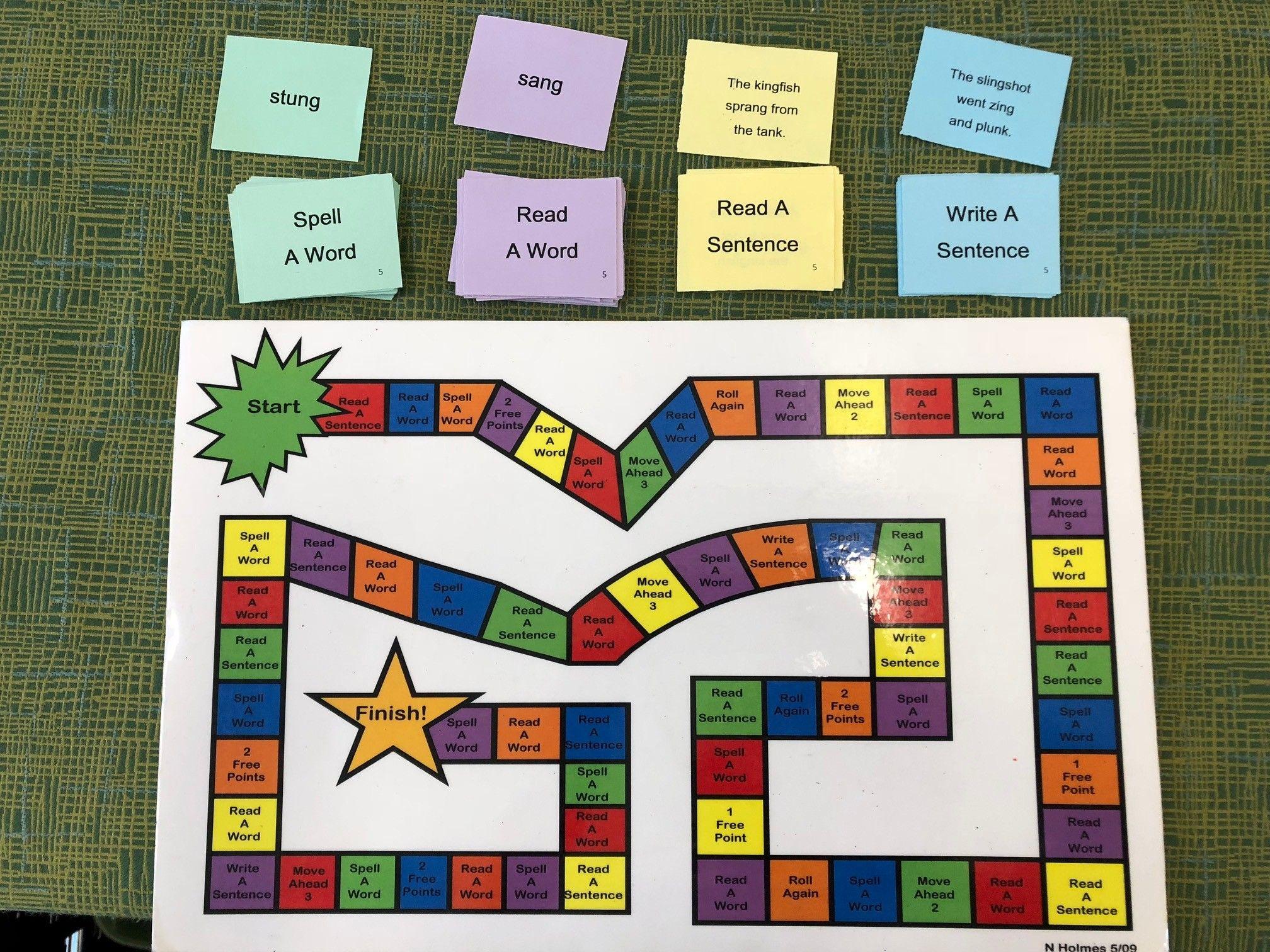 Orton Gillingham Activities Level 1 Bundle Word Cards