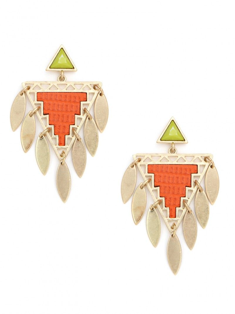 I finally ordered these for myself. Now to find an orange top to wear them with. ; ) BaubleBar- Orange Gypsy Drops
