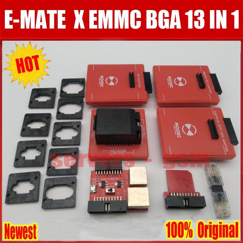 2018 Newes E mate box E-mate X EMMC BGA 13 IN 1 Support