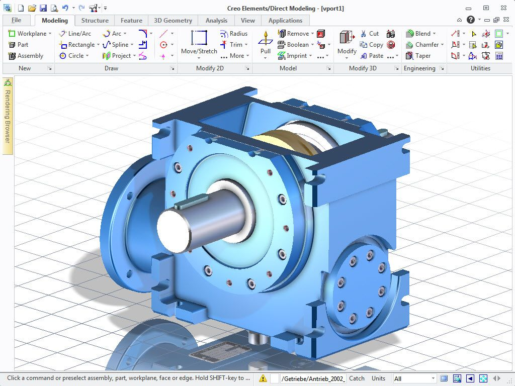 ptc creo elementsdirect modeling direct modeling