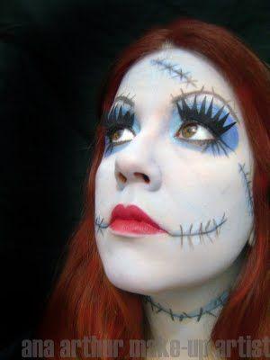 ana arthur make-up artist: Halloween. The Nightmare Before ...