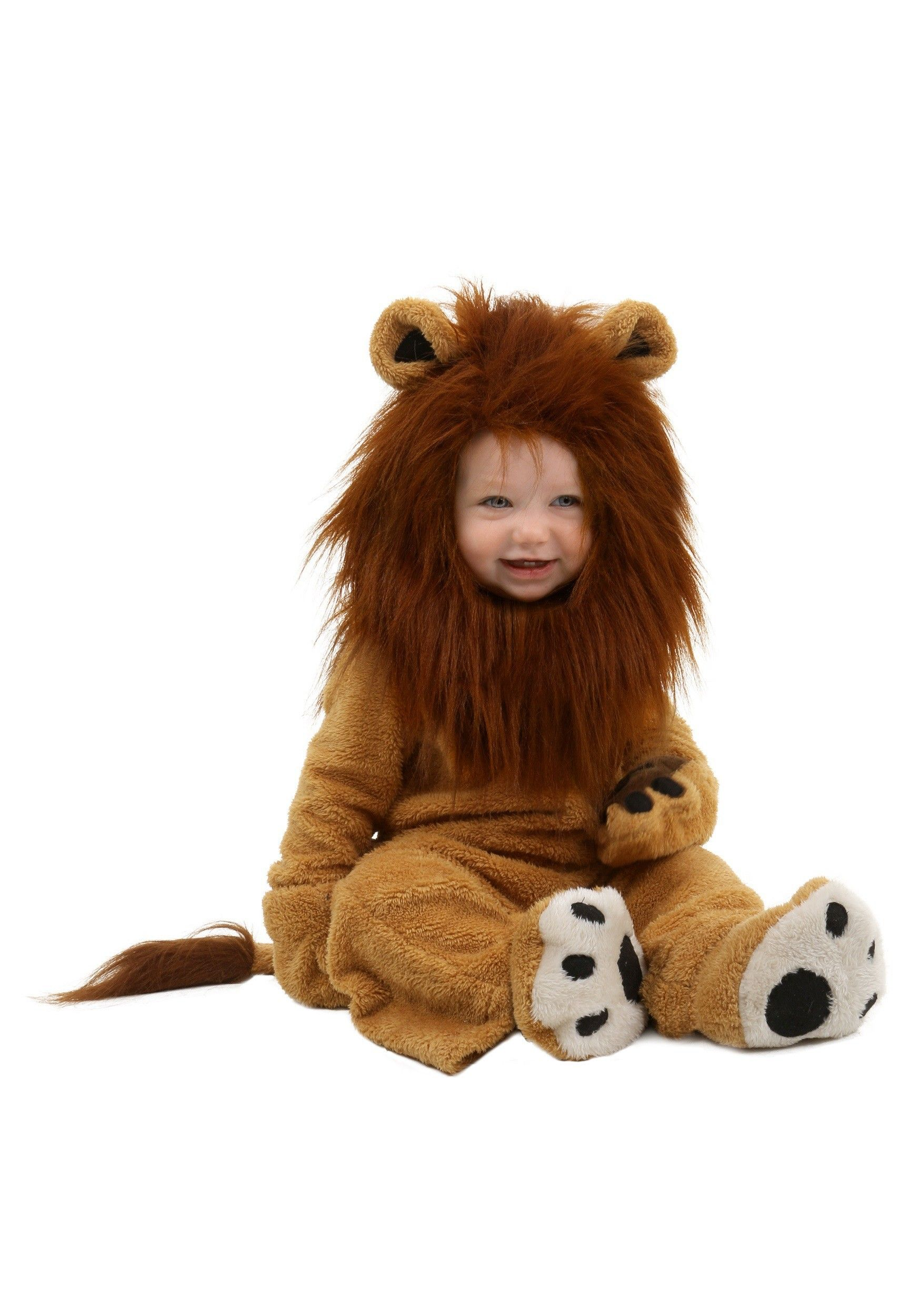 Toddler Deluxe Lion Costume Holahdaze Lion Halloween
