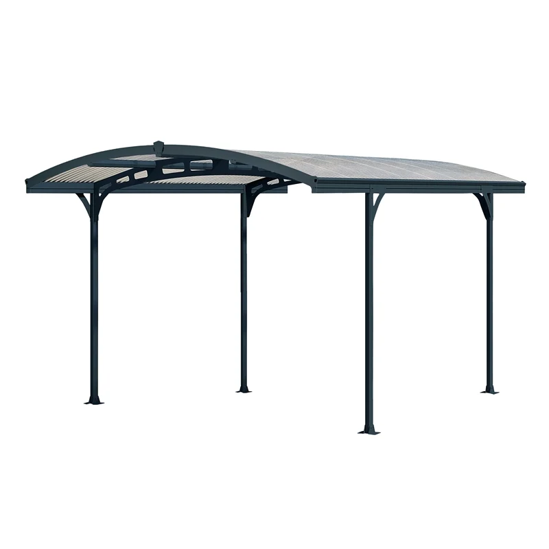 Palram 2.39 x 4.95 x 2.8m Atlas Carport Kit in 2020