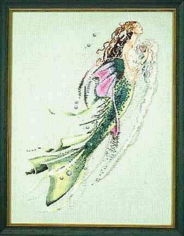 Mirabilia mermaid of the pearls photo