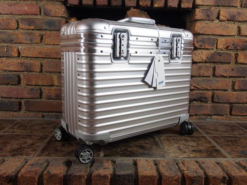 Rimowa Pilot Mulitwheel Aluminium NEW incl. Notebook Bag + Cable Bag