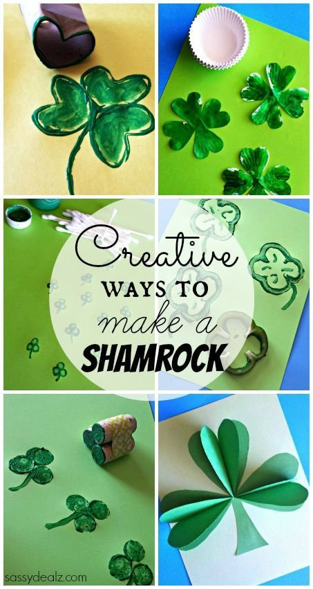 List Of Shamrock Crafts To Make For St Patrick S Day March